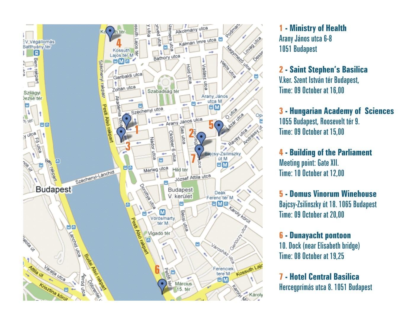 budapest térkép 2009 2009 Elisad Meeting / HomePage budapest térkép 2009
